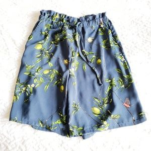 ANTHROPOLOGIE XS Lemon High Rise Bermuda Shorts